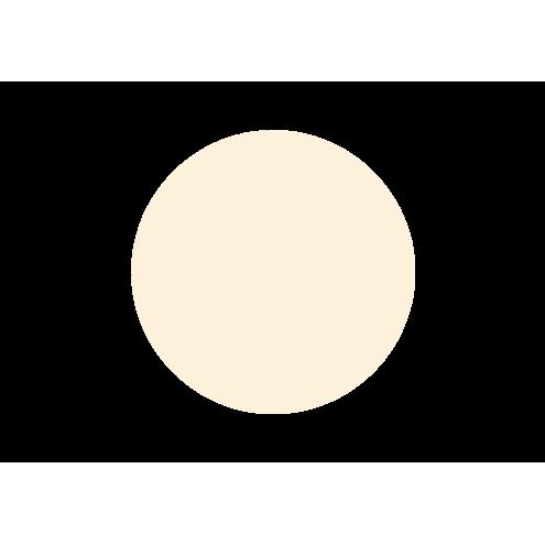 Картонная бирка круглая, бежевая