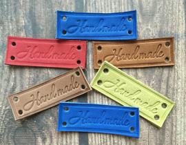 Кожаные бирки для Handmade