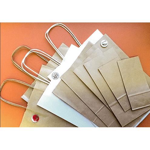 Крафт-пакет с ручками